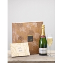 Champagne & Belgian Chocolates Gift Set