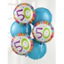 50th Birthday Balloon Bouquet